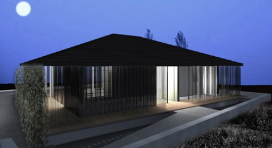 A render of the low-carbon Omotenashi House.